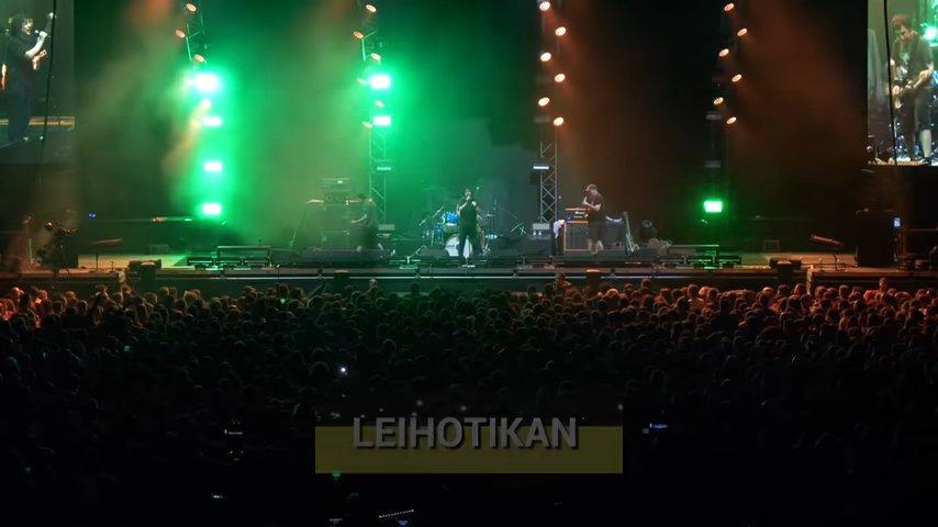 Leihotikan en Hamaika Telebista (Crónica del último concierto de Berri Txarrak).